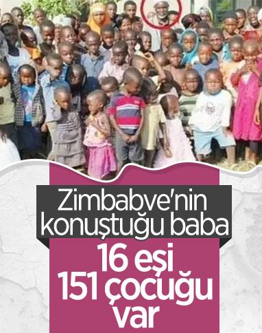 Zimbabve'de 16 eşi olan adam: Hedefim 100