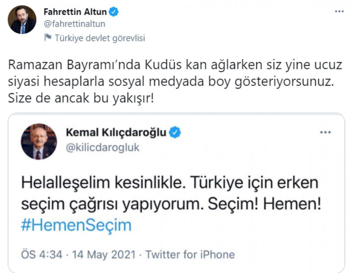 Cumhurbaşkanı Erdoğan ın helallik istemesi muhalefetin tek gündemi oldu #2