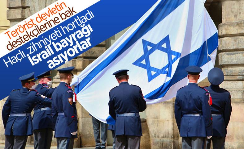 Çekya'dan İsrail'e 'bayraklı' destek