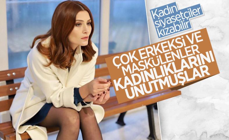 Deniz Çakır'dan kadın siyasetçilere: Çok erkeksi