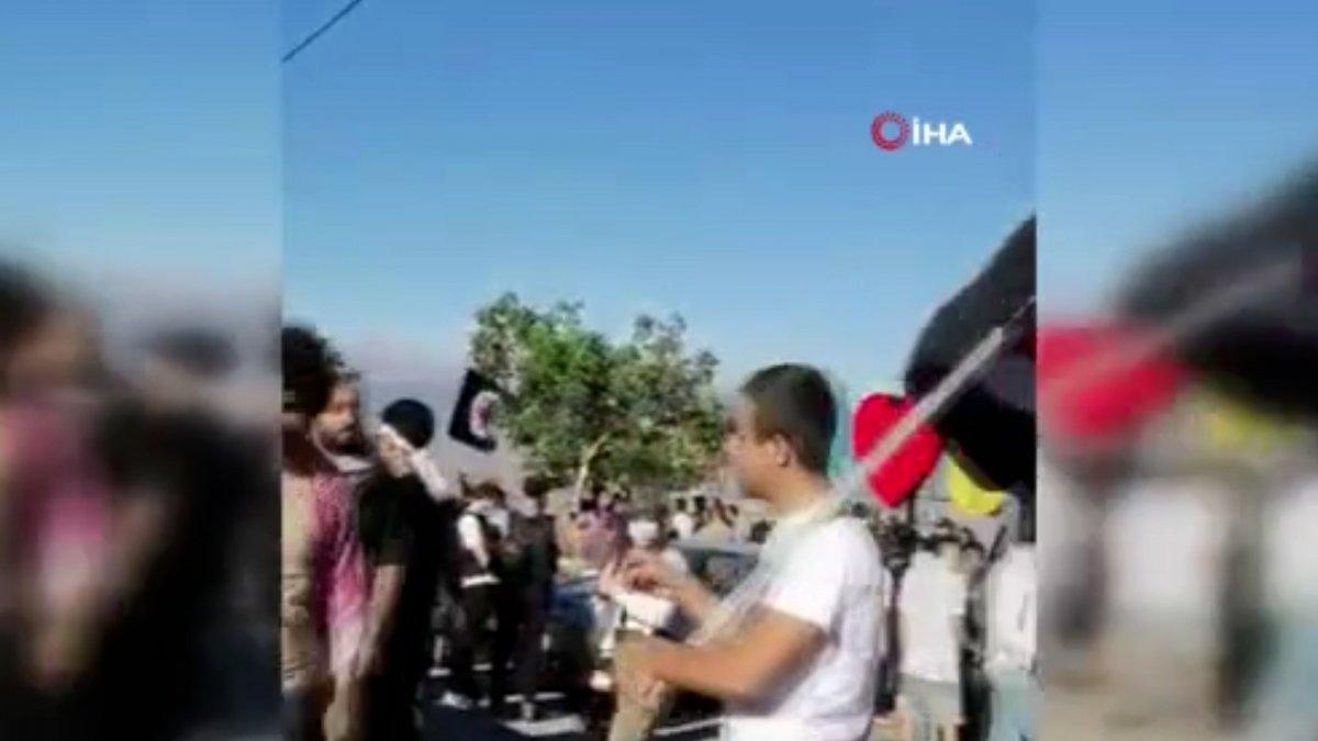 Lübnan-İsrail sınırında İsrail protestosu #2