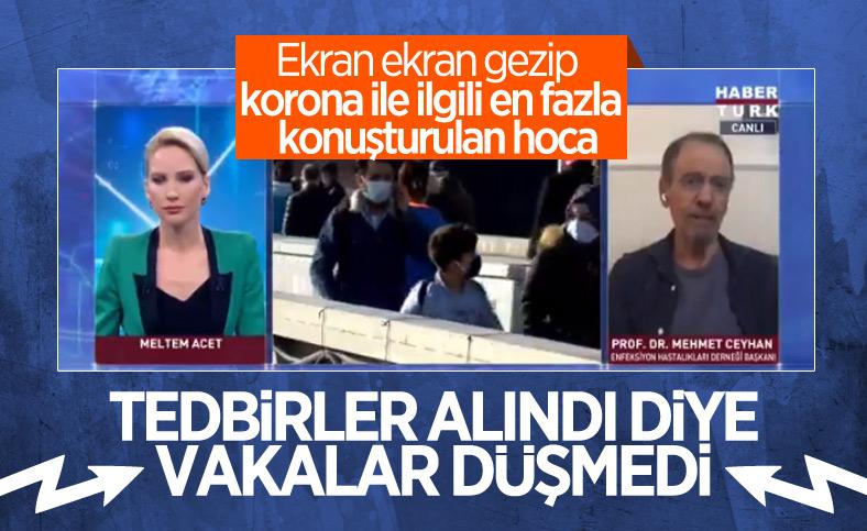 Mehmet Ceyhan: Vakalar tedbirler nedeniyle düşmedi