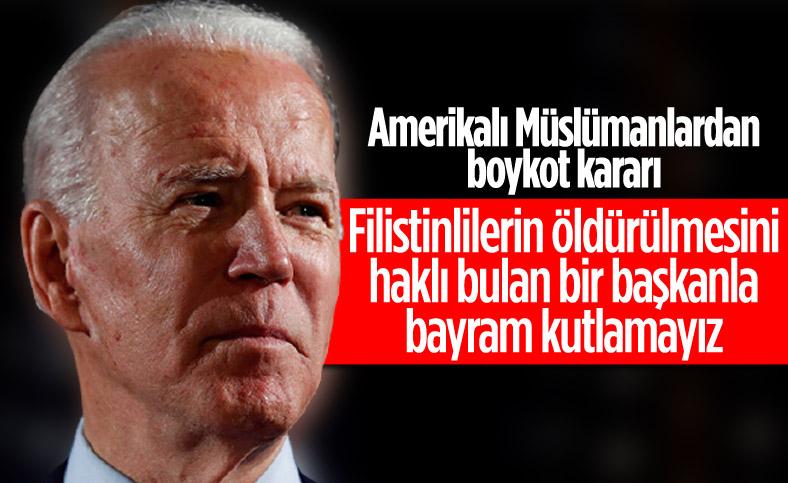 ABD'li Müslüman kuruluşlardan Biden'ın bayram programına boykot