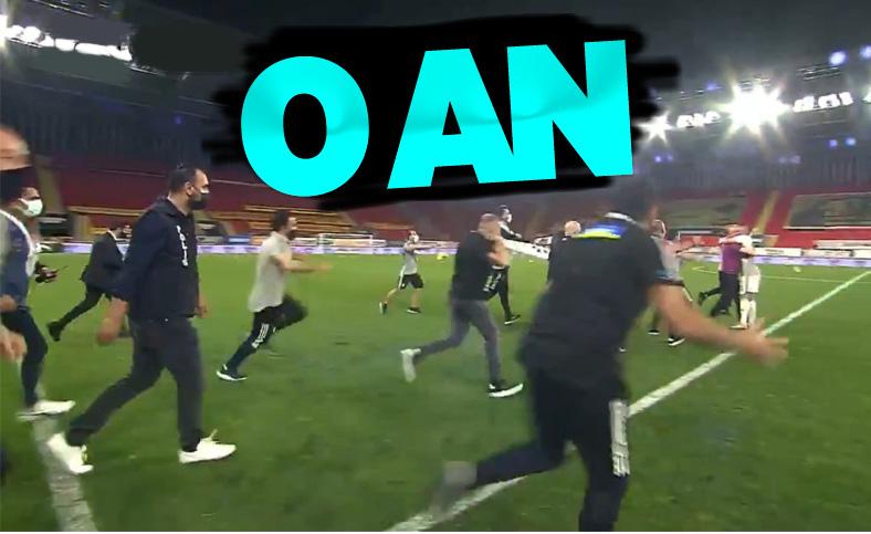 Beşiktaş'ın şampiyon olduğu an