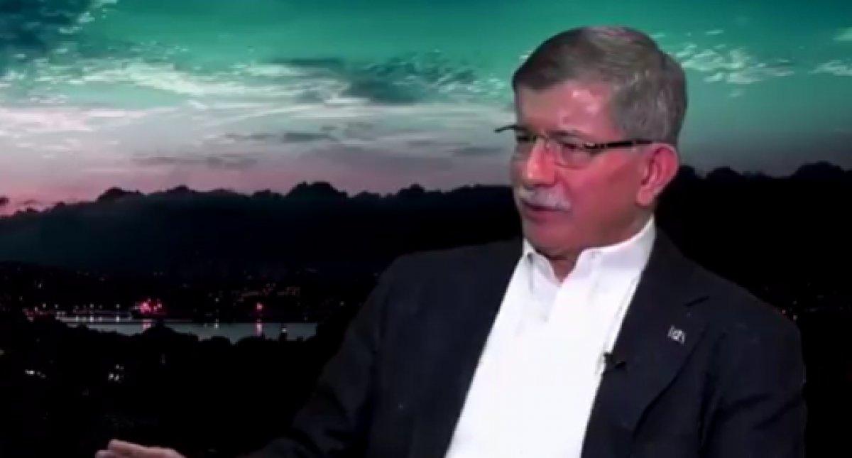 Ahmet Davutoğlu: Abdullah Gül ile adaylığı için görüştük #1
