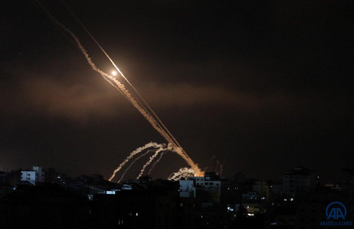 Gazze den Tel Aviv e roket saldırısı #2