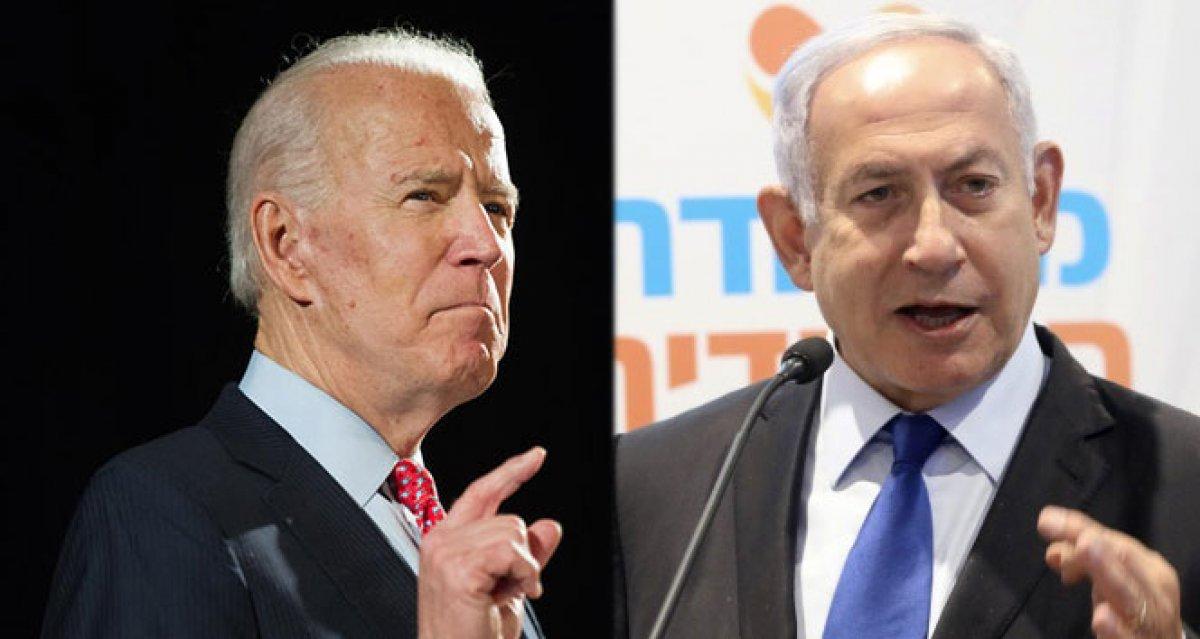 Netanyahu dan Biden a   sarsılmaz desteği   için teşekkür #1