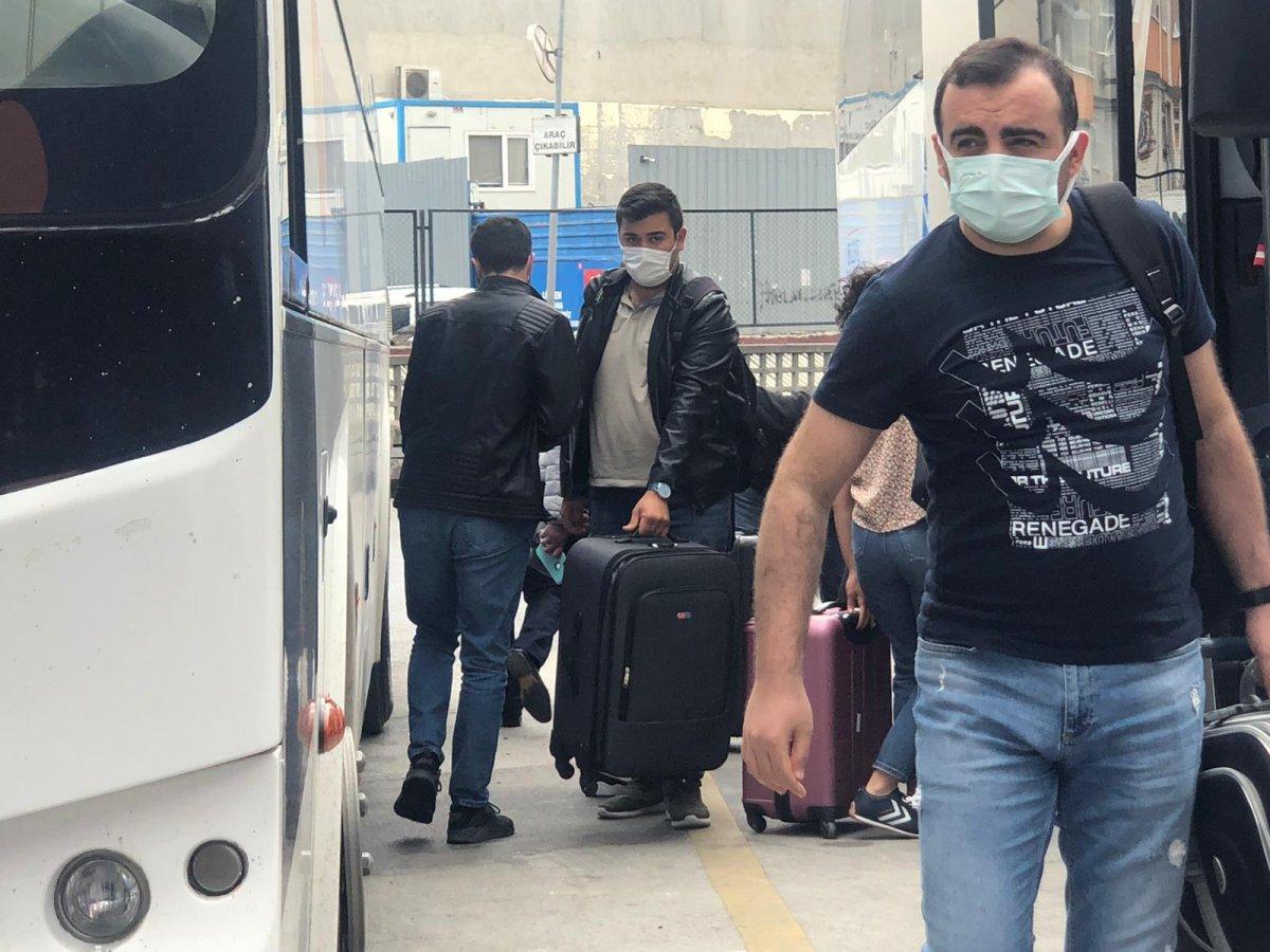 İstanbul'a dönüş başladı #5