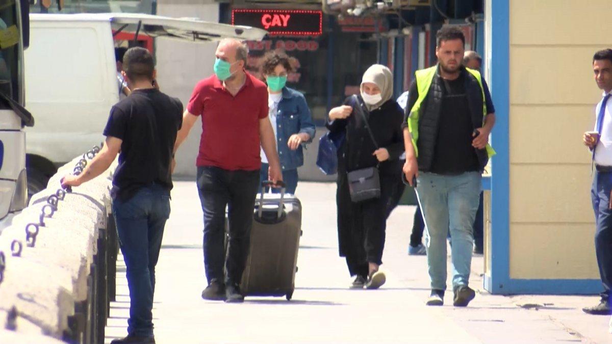 İstanbul'a dönüş başladı #1