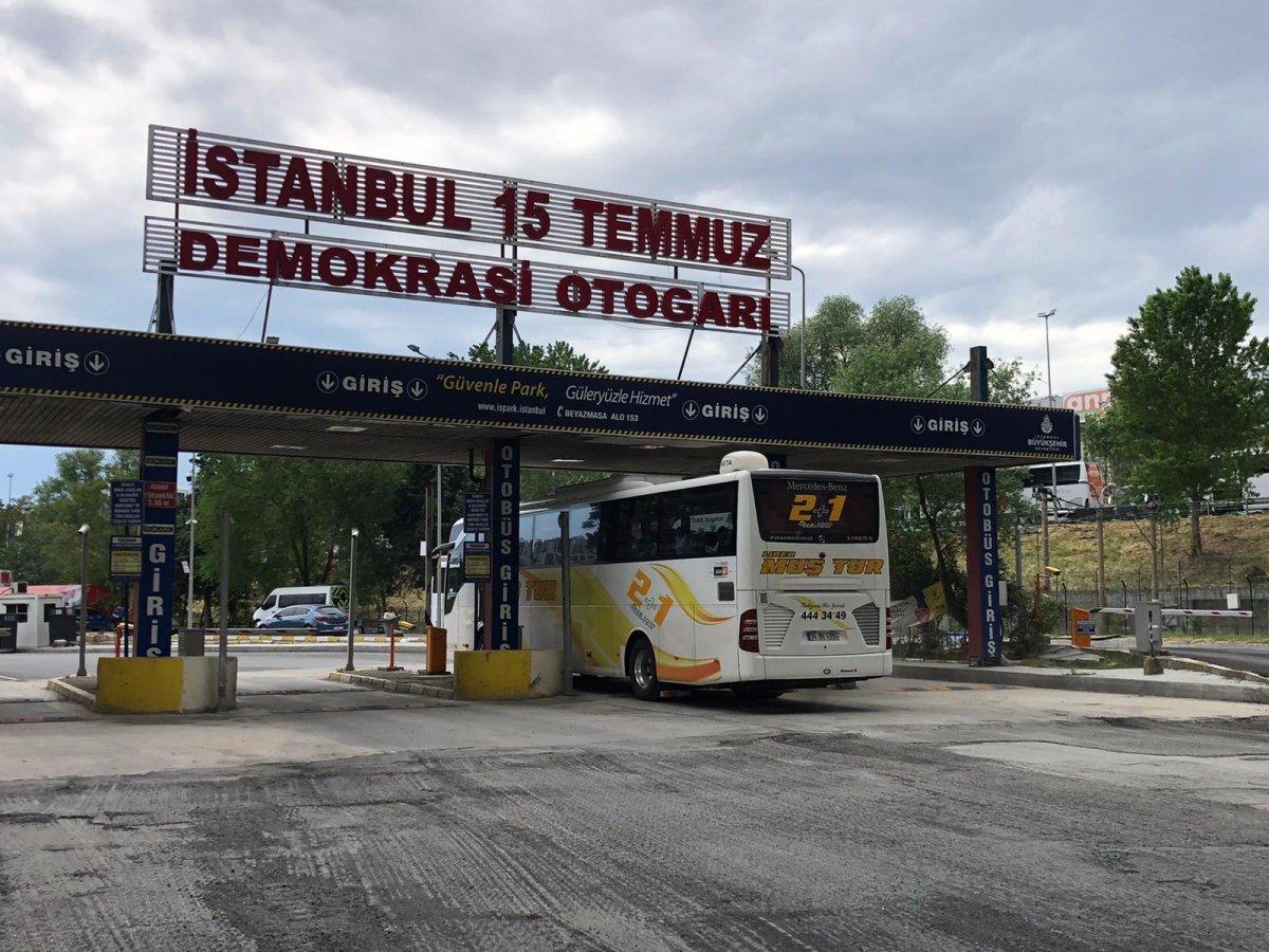 İstanbul'a dönüş başladı #6