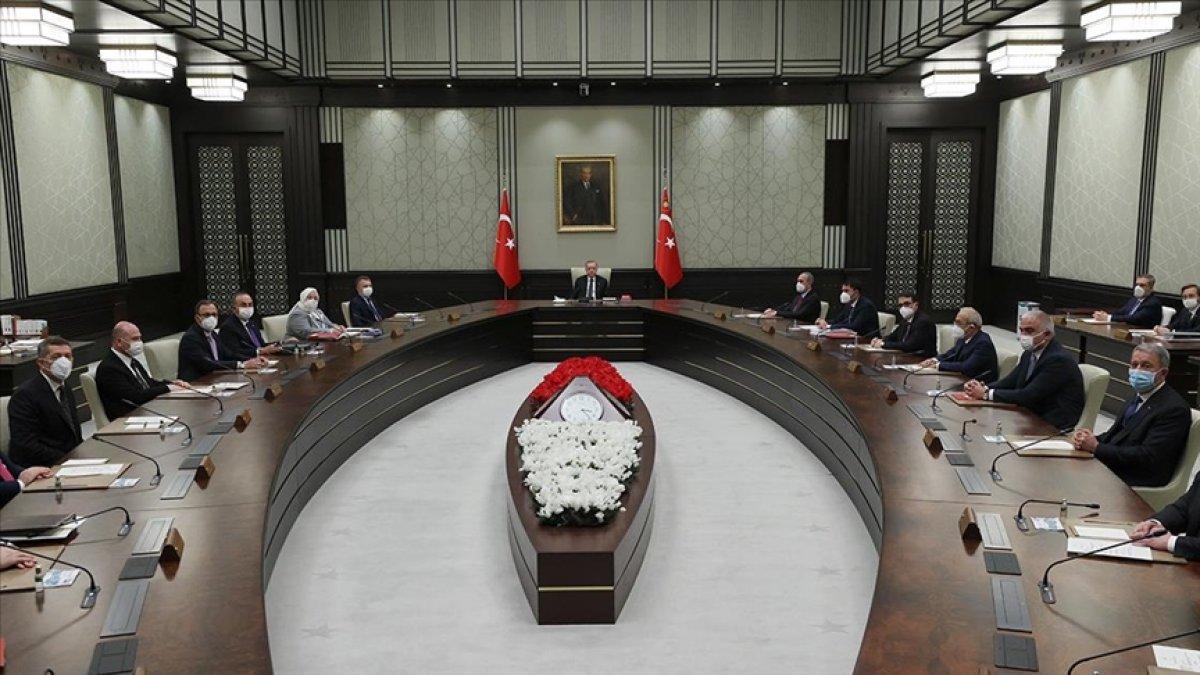Kabine toplantısında gündem: Kademeli normalleşme #1