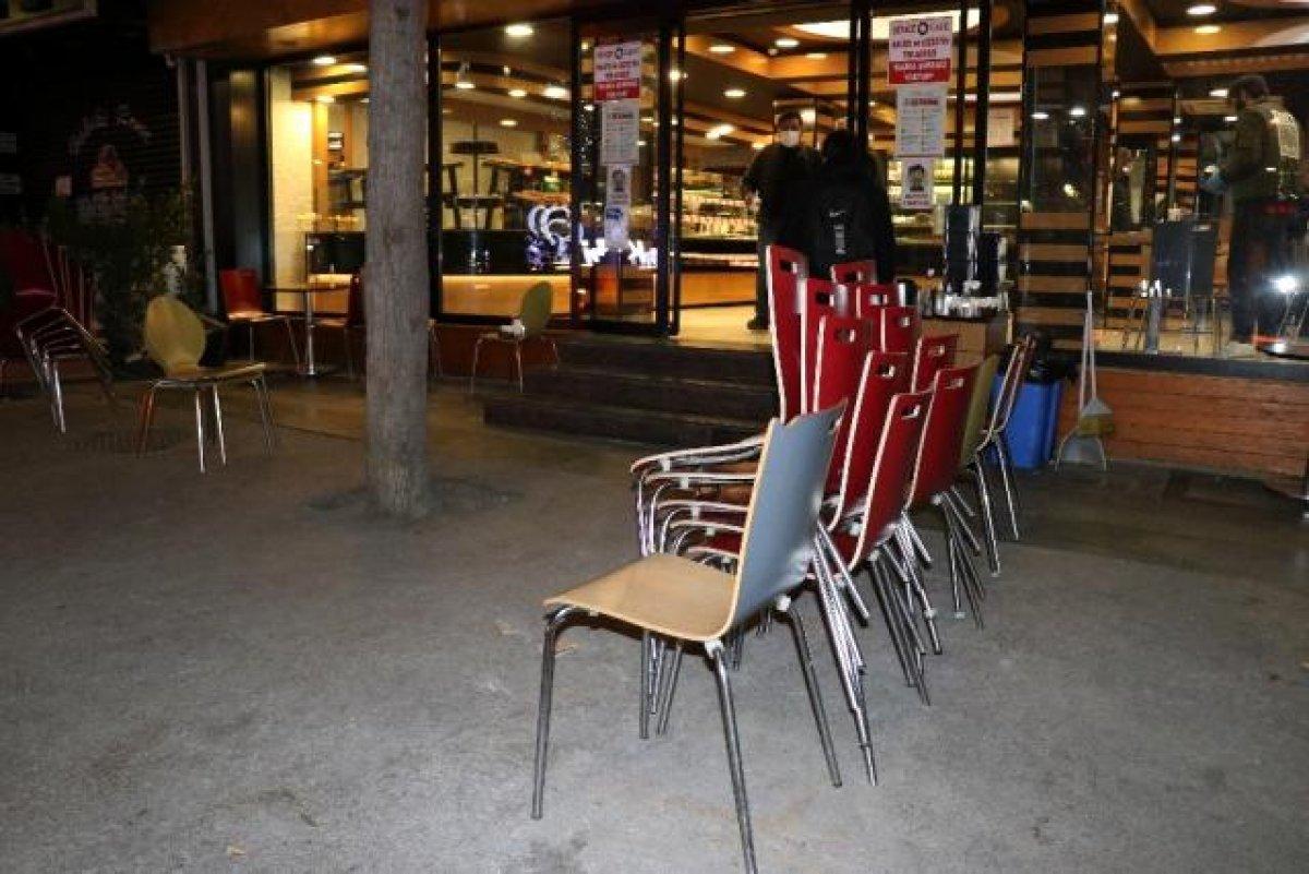 Kademeli normalleşmede  yeme-içme  yerleri kararı #1
