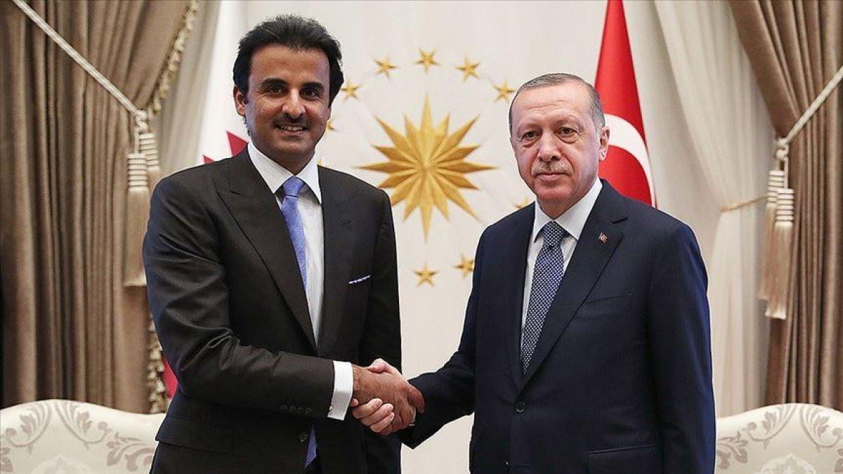 Katar Meclis Başkanı: Türkiye ile aynı şekilde hareket etmeye hazırız #2