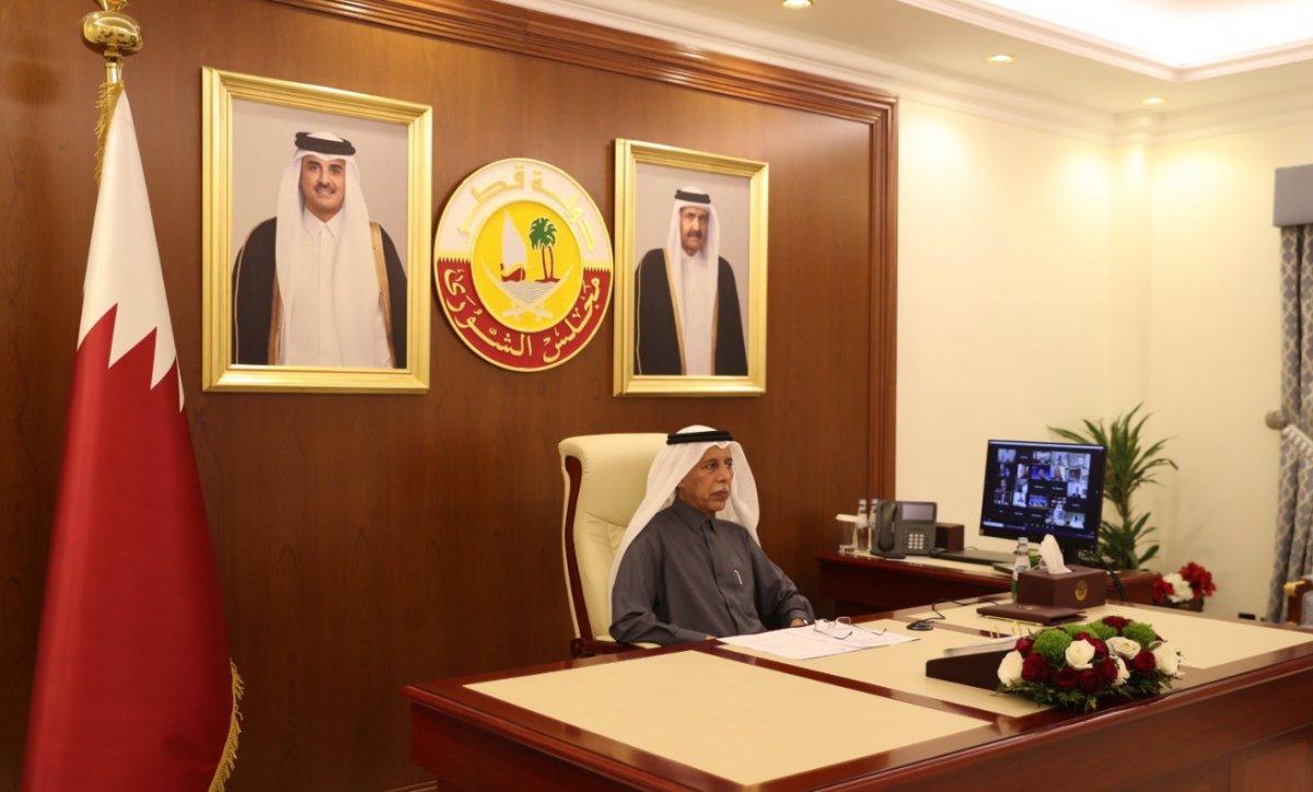 Katar Meclis Başkanı: Türkiye ile aynı şekilde hareket etmeye hazırız #1