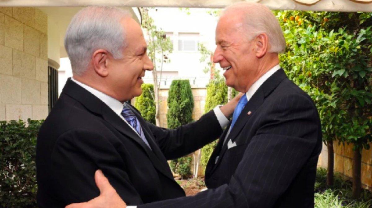 Netanyahu dan Biden a   sarsılmaz desteği   için teşekkür #2