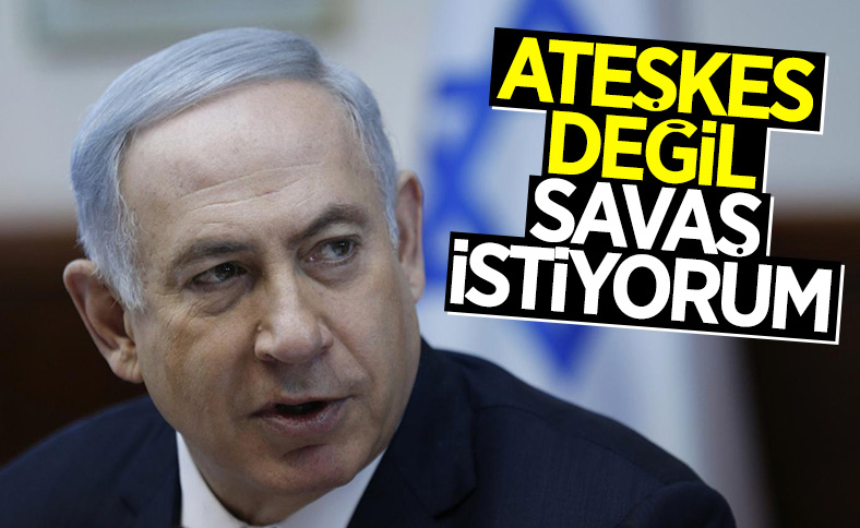 Netanyahu, Filistin'e yönelik saldırıların devam edeceğini söyledi