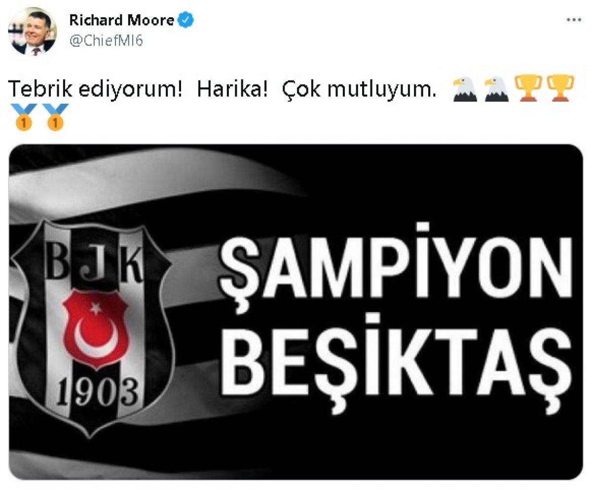 Richard Moore dan Beşiktaş paylaşımı #1