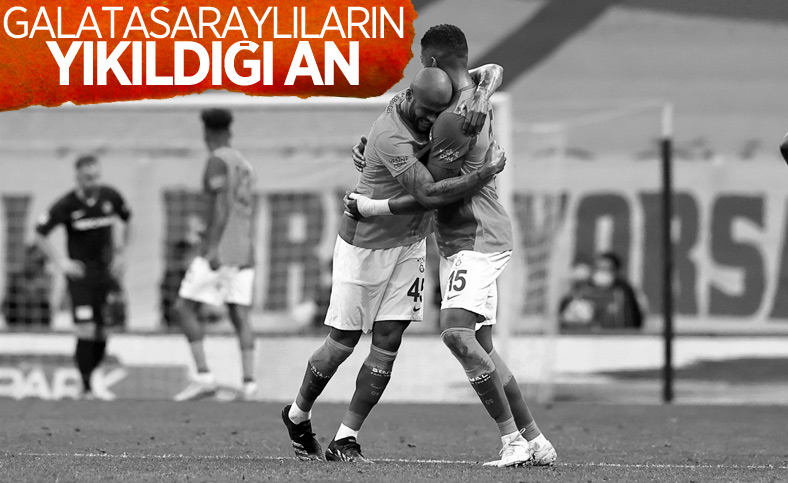 Galatasaraylıların yaşadığı üzüntü