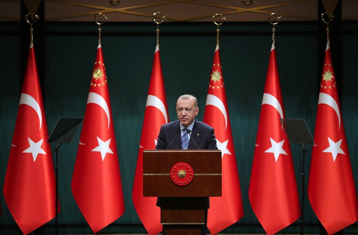 Cumhurbaşkanı Erdoğan: Salgını kontrol altına aldık #1