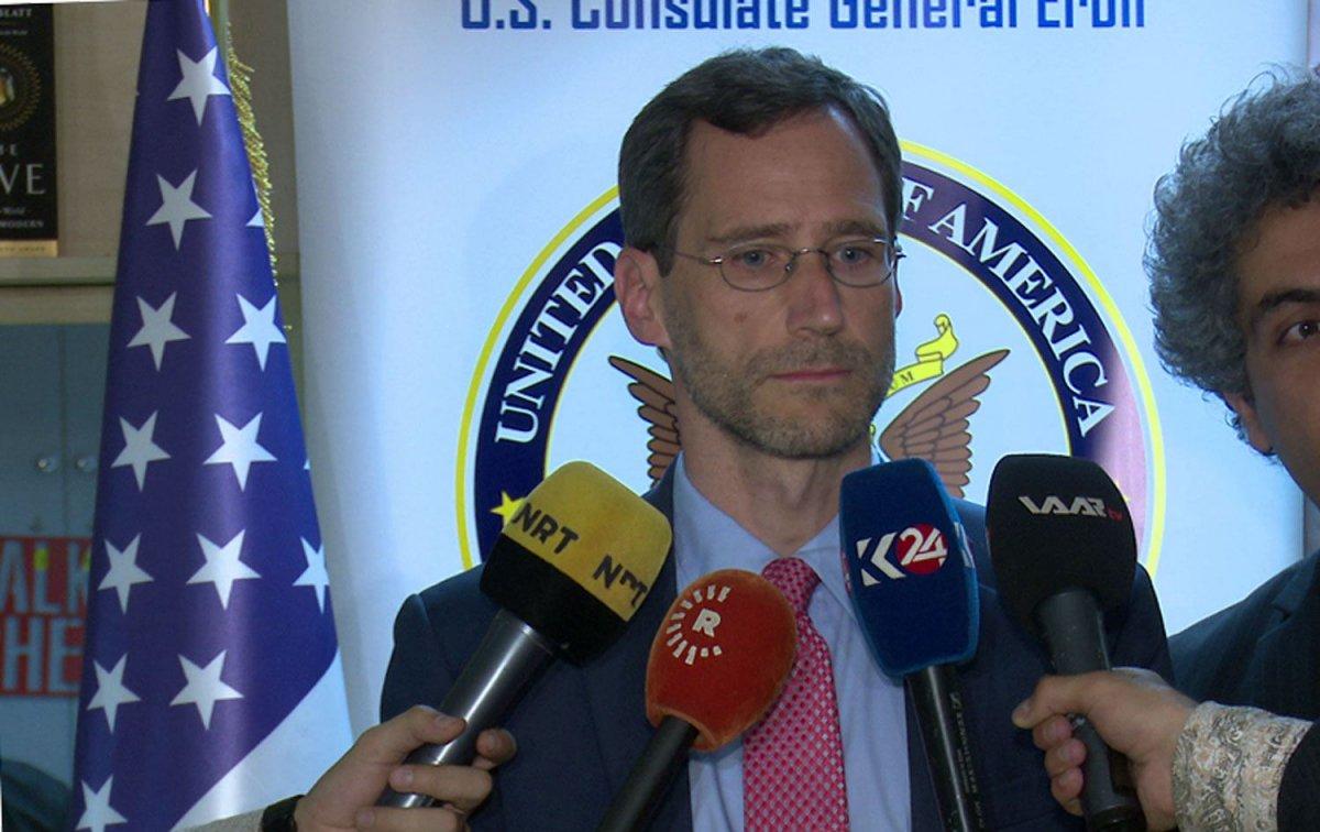 ABD li diplomatlar Suriye de PKK işgalindeki bölgeyi ziyaret etti #2