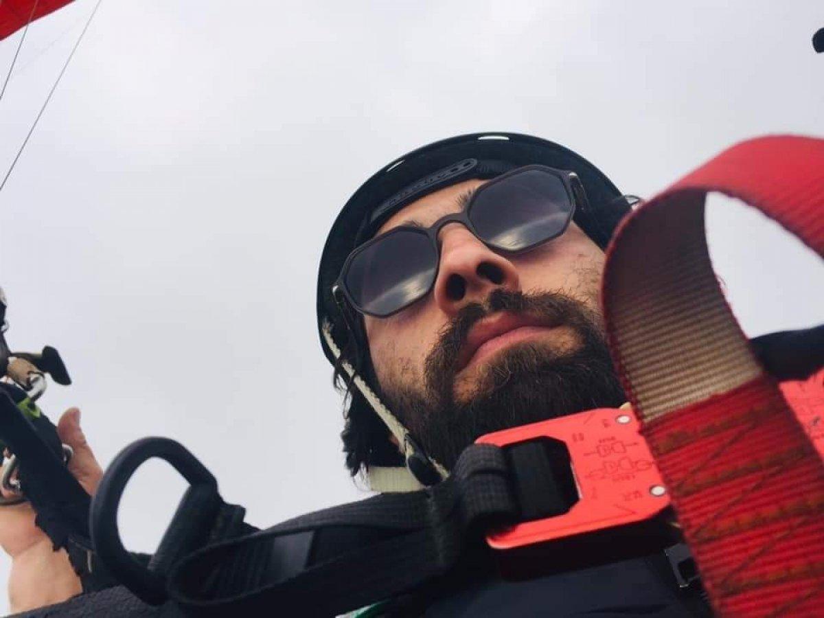 Gürle Dağı nda atlayış yaptıktan sonra kaybolan amatör paraşütçünün cansız bedeni bulundu #9