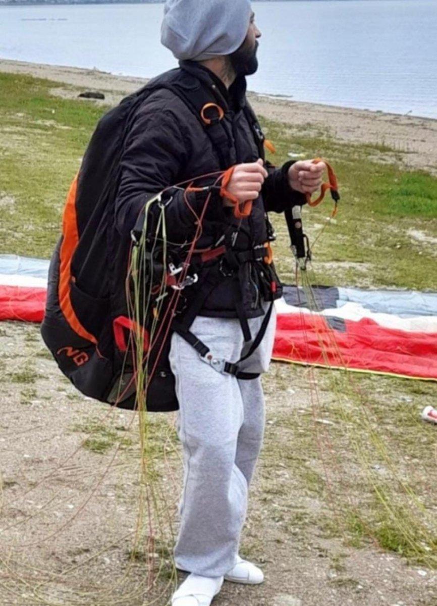 Gürle Dağı nda atlayış yaptıktan sonra kaybolan amatör paraşütçünün cansız bedeni bulundu #13