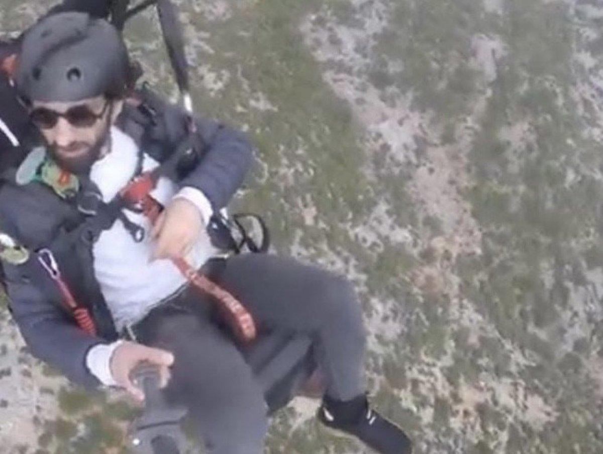 Gürle Dağı nda atlayış yaptıktan sonra kaybolan amatör paraşütçünün cansız bedeni bulundu #11