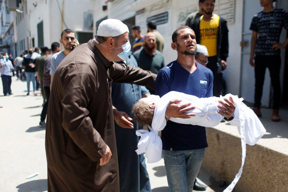 İsrail in Filistin e yönelik saldırının bilançosu #5
