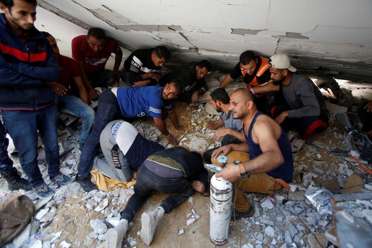 İsrail in Filistin e yönelik saldırının bilançosu #7