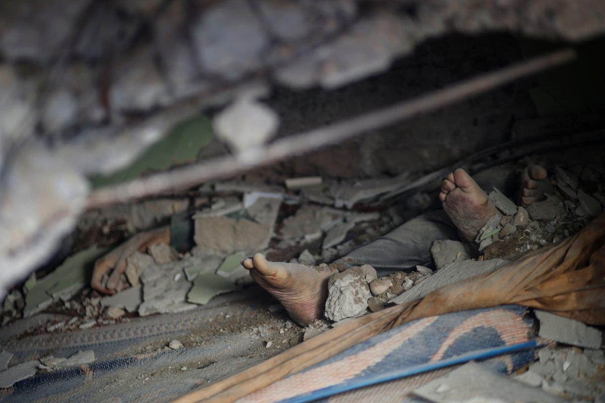 İsrail in Filistin e yönelik saldırının bilançosu #1