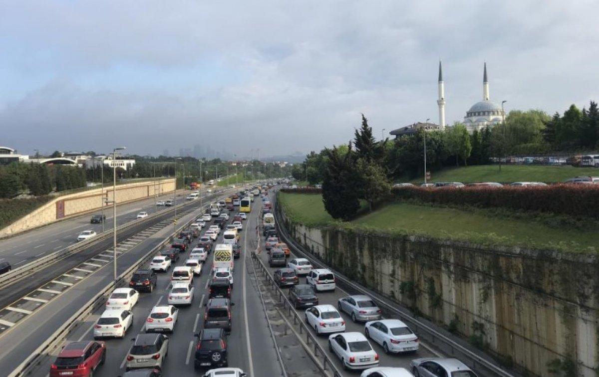 İstanbul'da trafik yoğunluğu #3