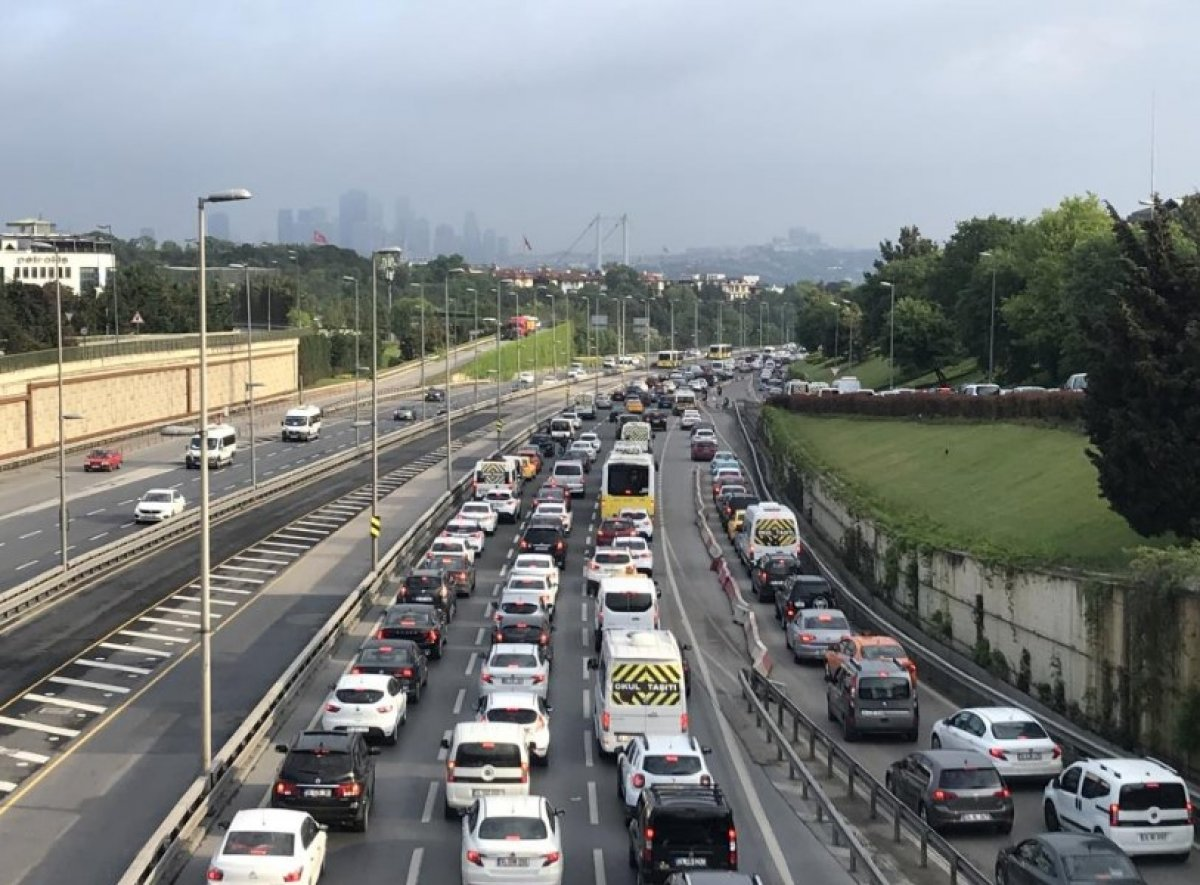 İstanbul'da trafik yoğunluğu #2