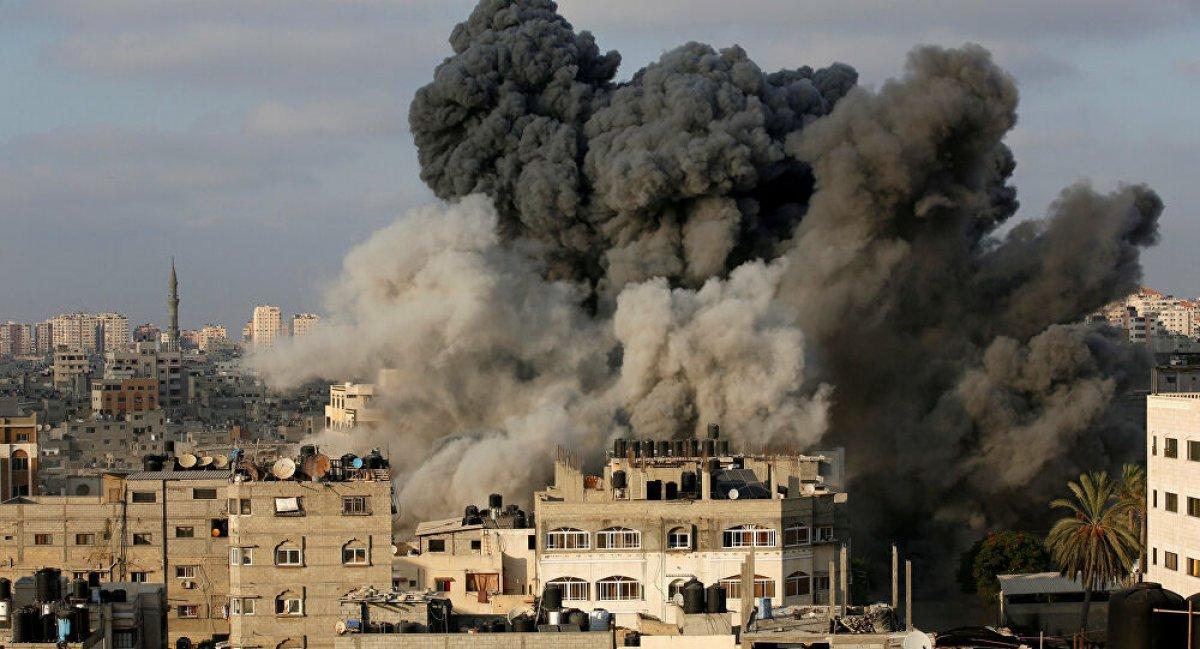 Mısır dan Filistin e Gazze Şeridi nin yeniden inşası için bağış #1