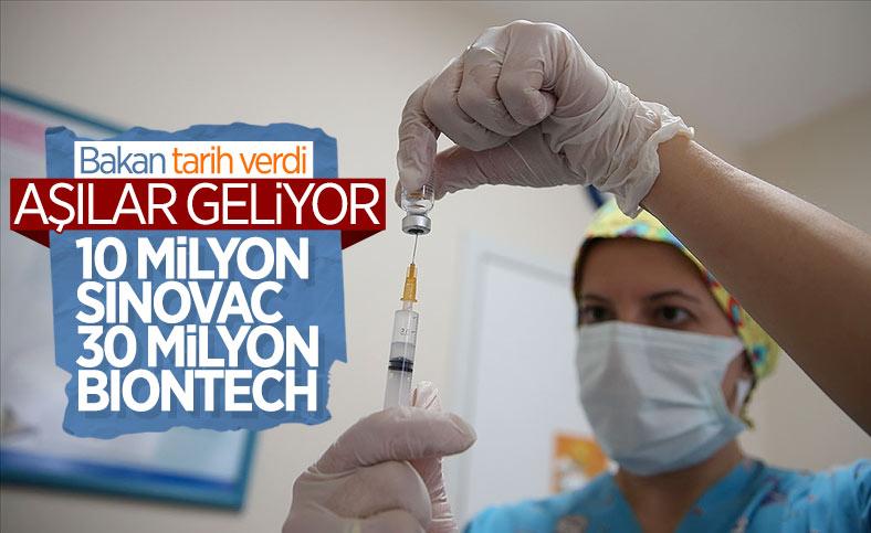 Fahrettin Koca: 10 milyon doz Çin aşısı bu hafta Türkiye'de olacak