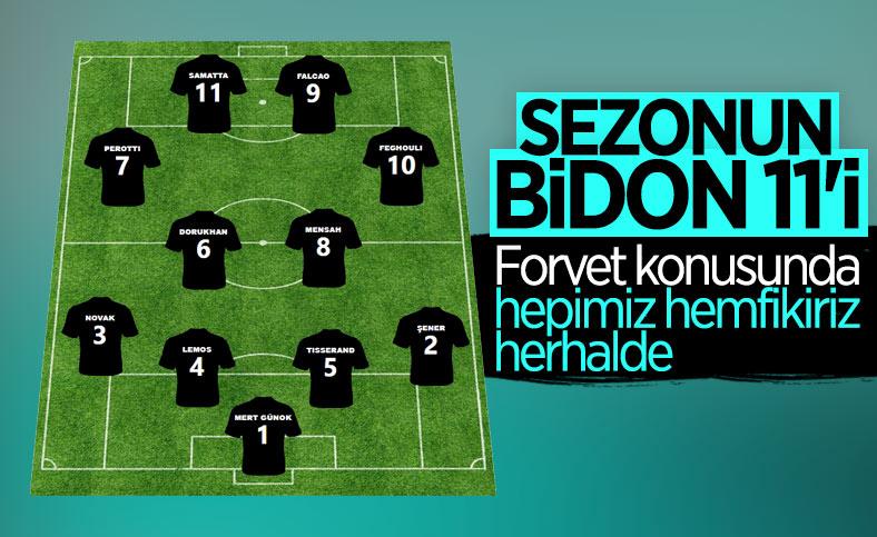 Süper Lig'de sezonun en kötü 11'i