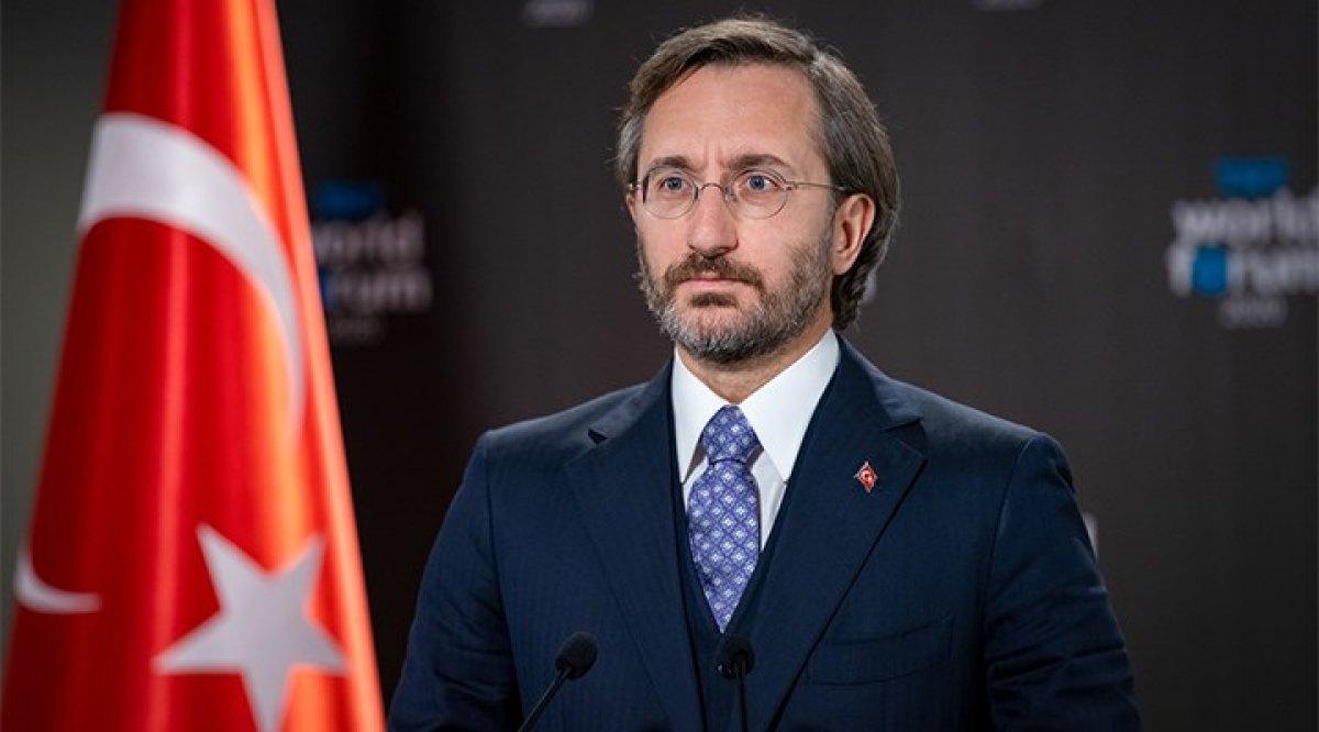 Fahrettin Altun: Cumhurbaşkanımızı, eli kanlı bir katile benzetmek siyaset etmek değildir #1
