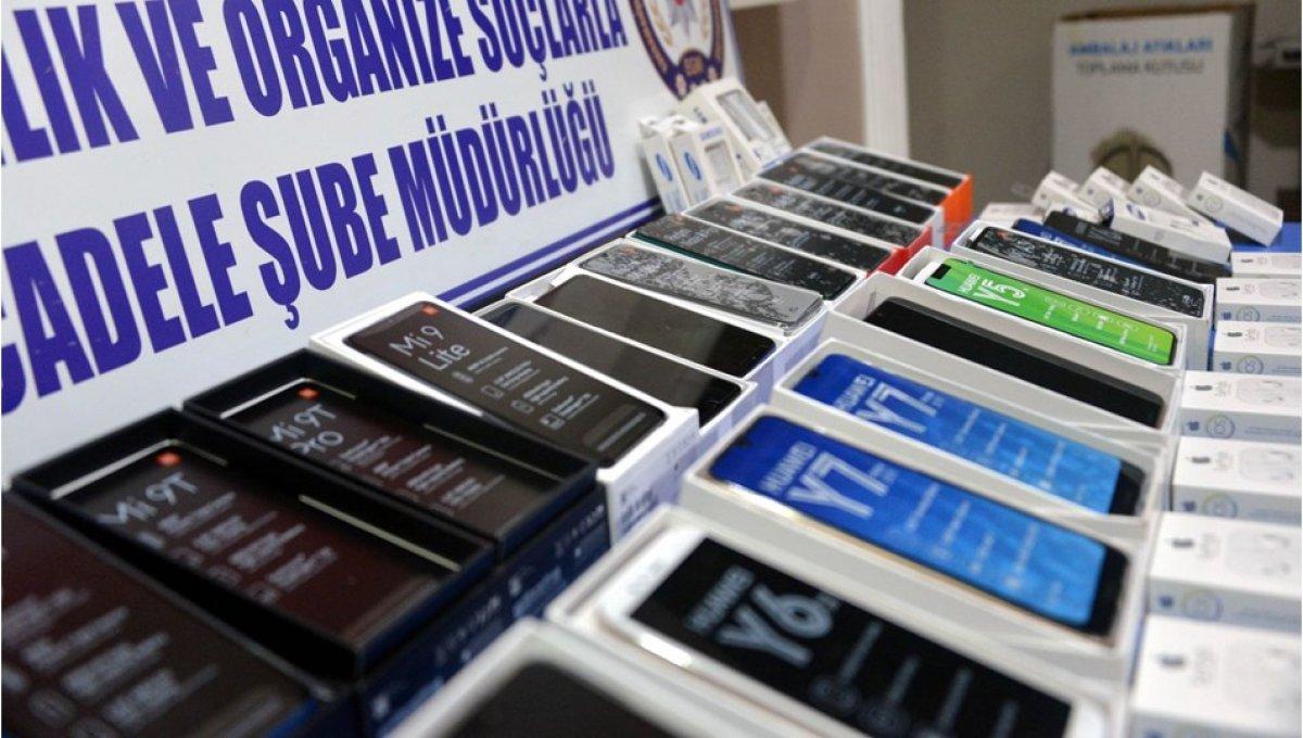 Kaçak telefonların yüzde 80 i internet üzerinden satılıyor #1