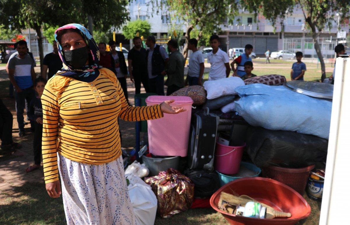 Adana'da kirasını ödeyemeyen kadın, 4 çocukla sokakta kaldı  #7