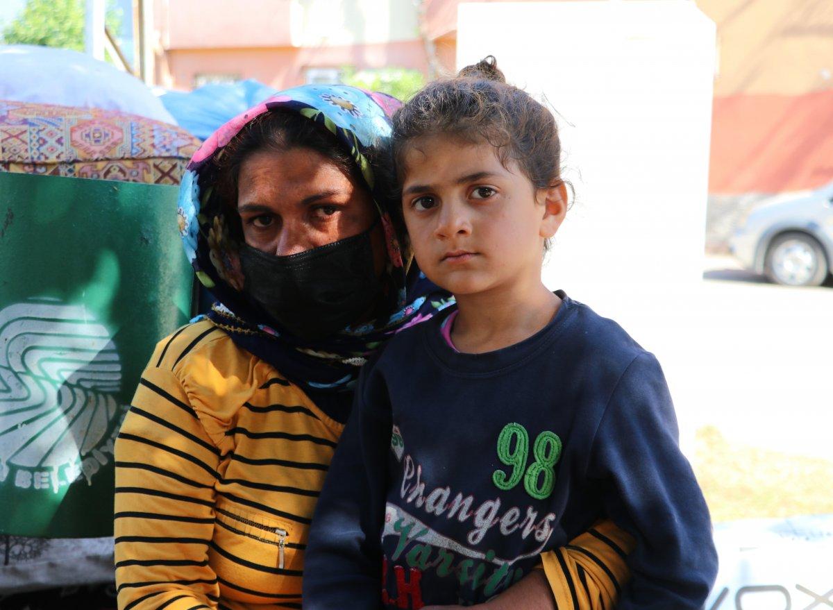 Adana'da kirasını ödeyemeyen kadın, 4 çocukla sokakta kaldı  #4
