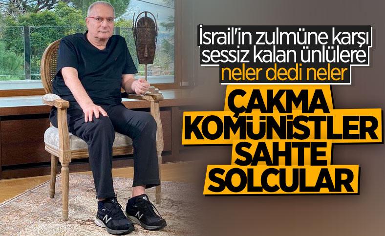 Mehmet Ali Erbil'den ünlü isimlere Filistin isyanı