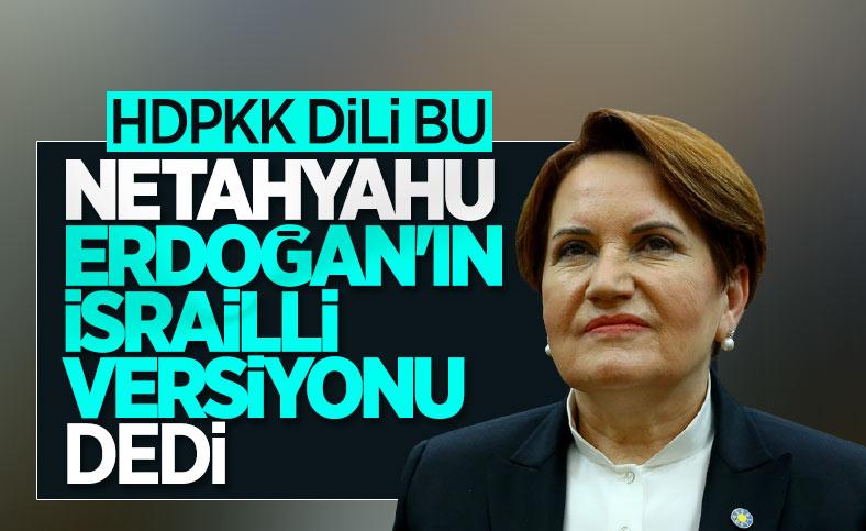 Meral Akşener'den Cumhurbaşkanı Erdoğan'a çirkin benzetme