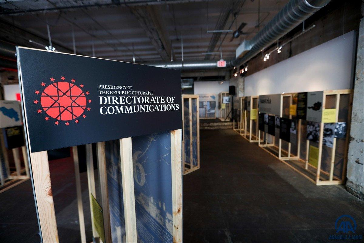 ABD nin başkentinde Şehit Diplomatlar Sergisi açıldı #1