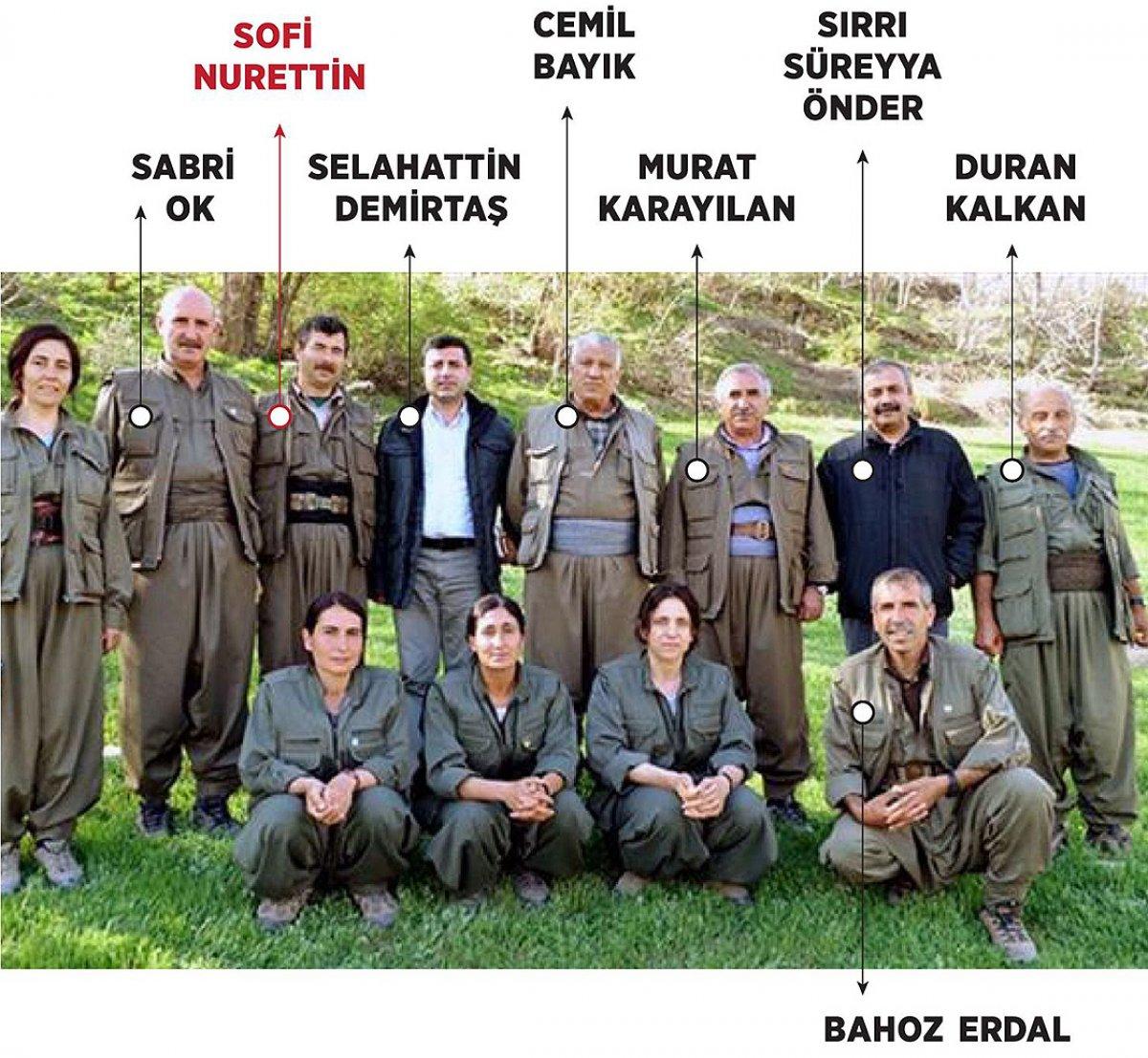 PKK nın Suriye sorumlusu Sofi Nurettin in öldürüldüğü TSK ve MİT operasyonunun ayrıntıları #1