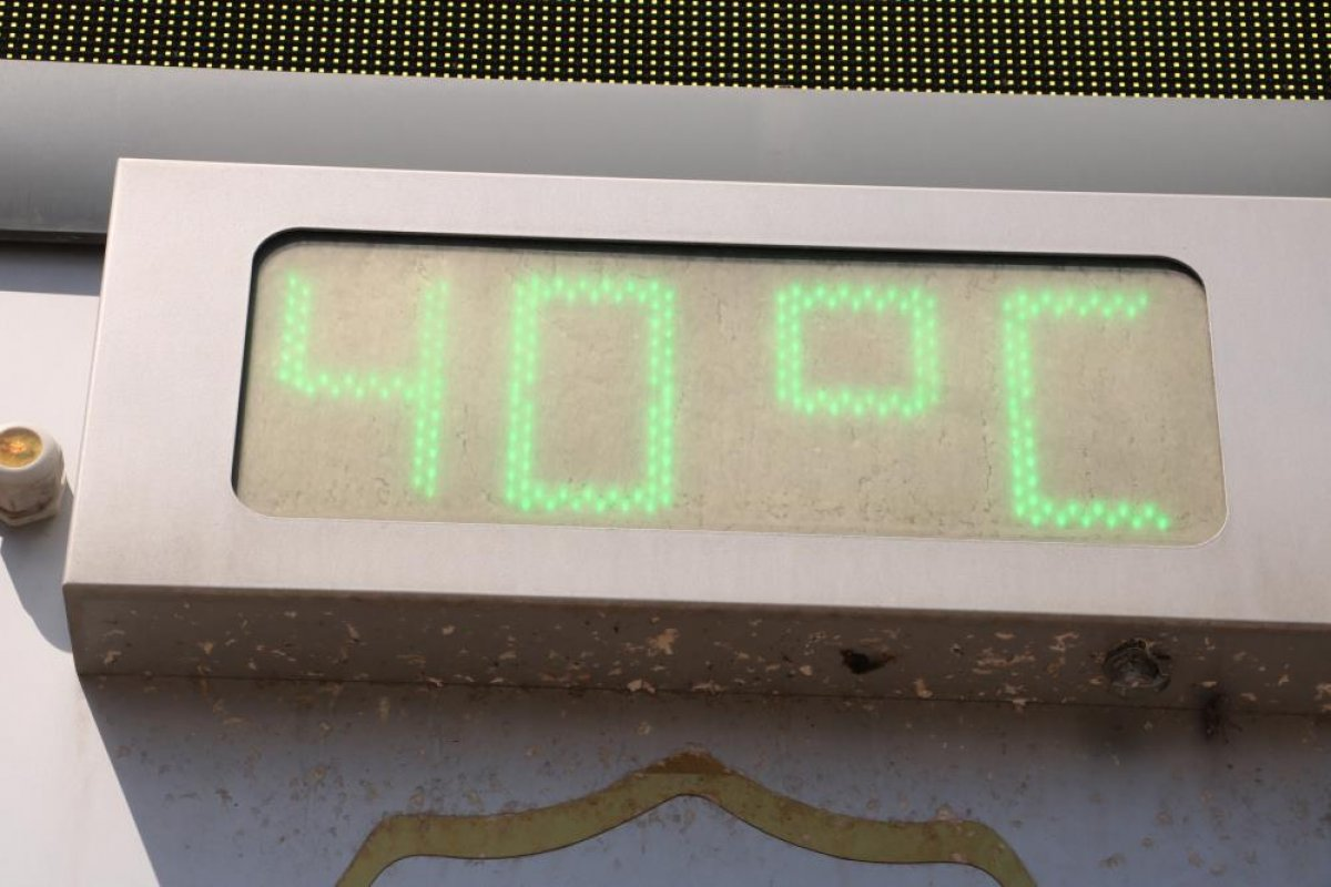 Şanlıurfa'da termometreler 40 dereceyi gösterdi #3