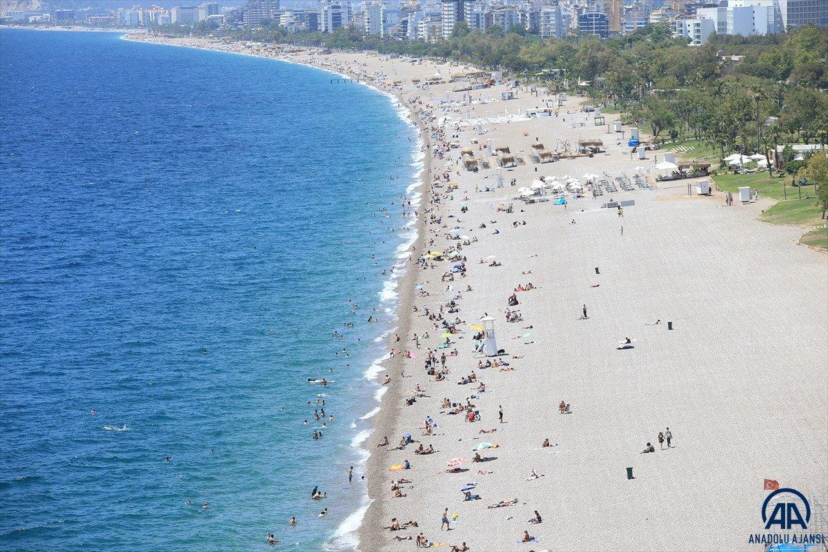 Muğla, Antalya ve Aydın da sahiller doldu #8
