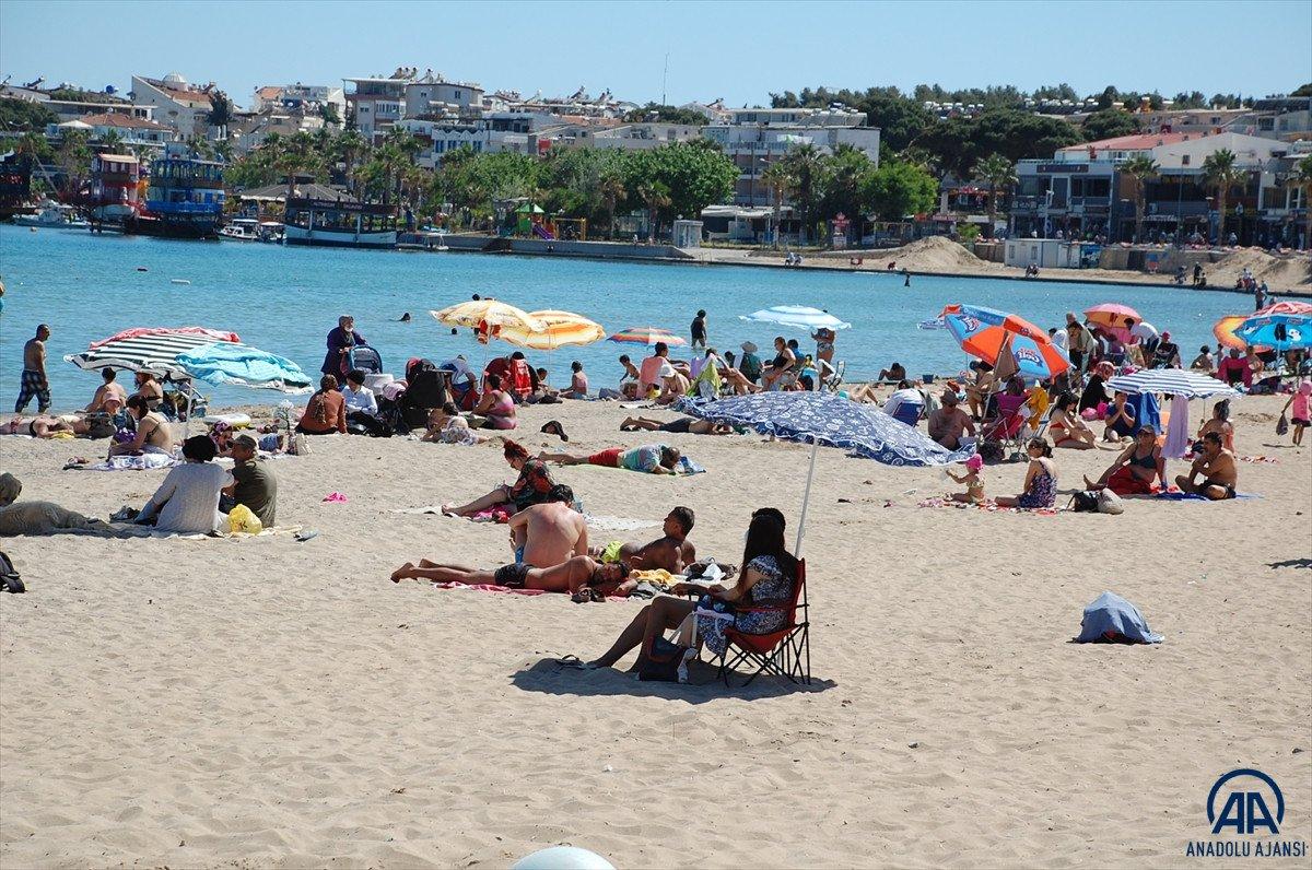 Muğla, Antalya ve Aydın da sahiller doldu #4