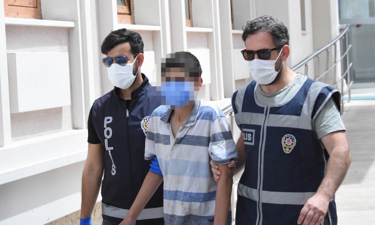 Konya da 13 yaşındaki hırsız bu kez kurtulamadı  #3