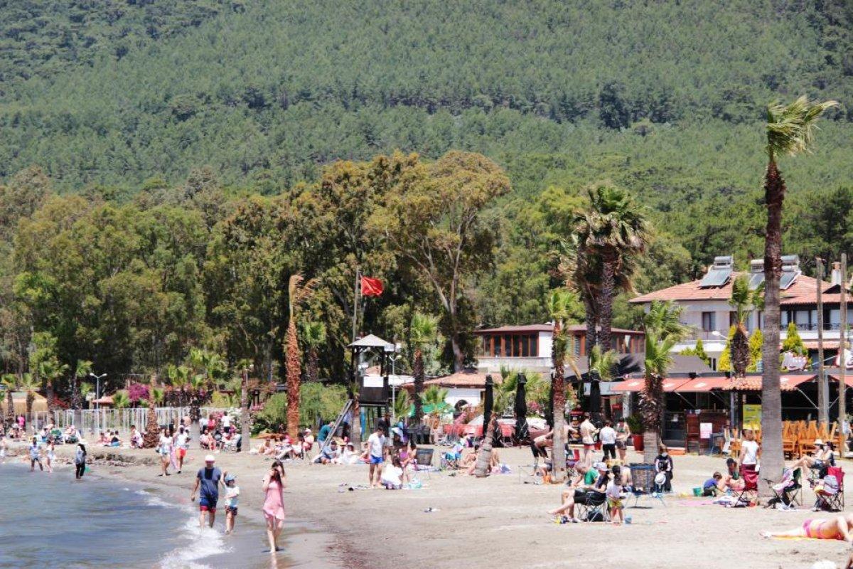 Muğla, Antalya ve Aydın da sahiller doldu #2