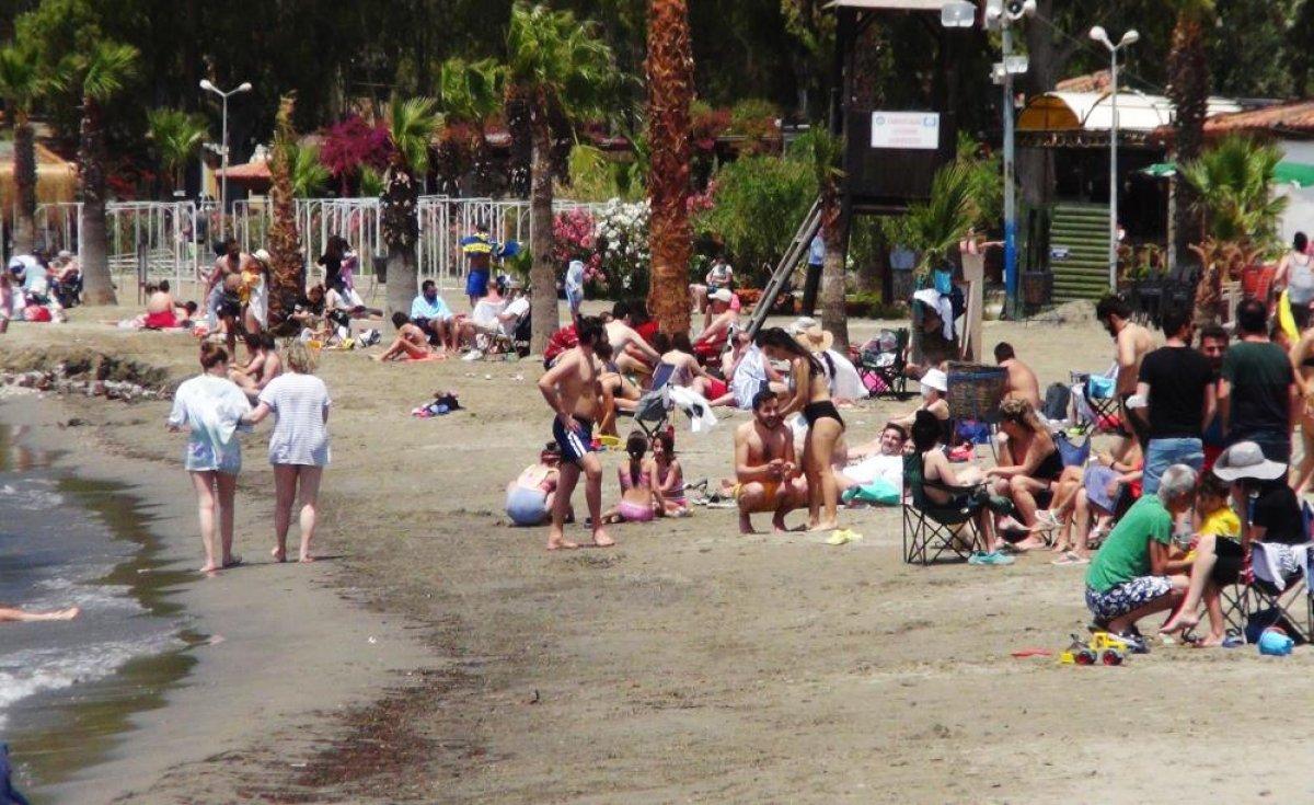 Muğla, Antalya ve Aydın da sahiller doldu #10