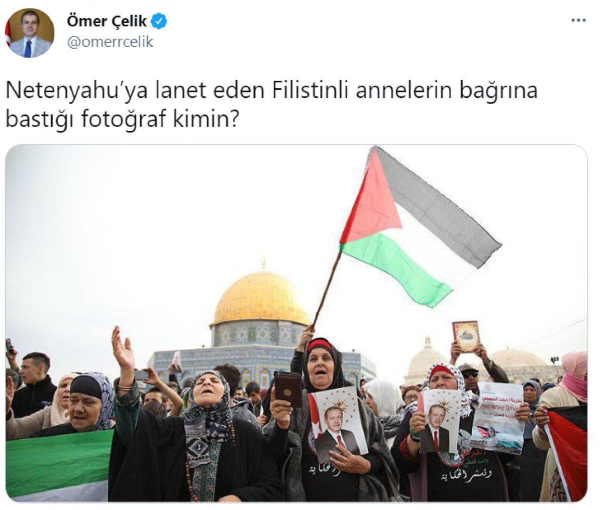 Ömer Çelik, Akşener e fotoğraflarla cevap verdi #1